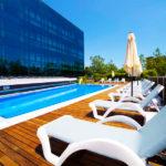 Abba Playa Gijón: Hotel en Gijón Piscina al Aire Libre