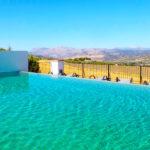 Arriadh Hotel: Hotel en Ronda Piscina Exterior al Aire Libre