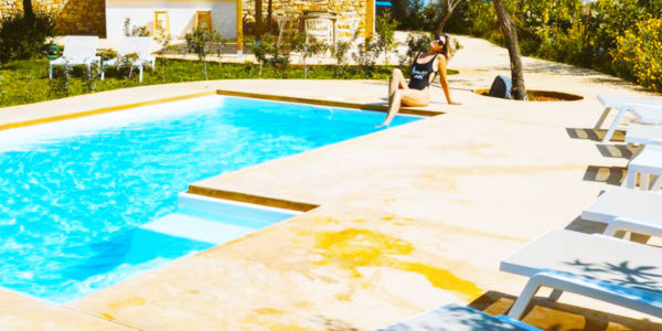 Piscina Boho Suites Denia