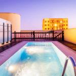 Hotel Eurostars Asta Regia Jerez: Hotel en Jerez Piscina en la Azotea