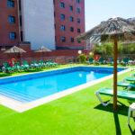 Hotel Las Atalayas Extremadura: Hotel en Cáceres Piscina al Aire Libre