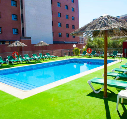 Piscina Extremadura Hotel