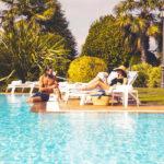 Gran Hotel Los Abetos: Hotel en Santiago de Compostela Piscina al Aire Libre