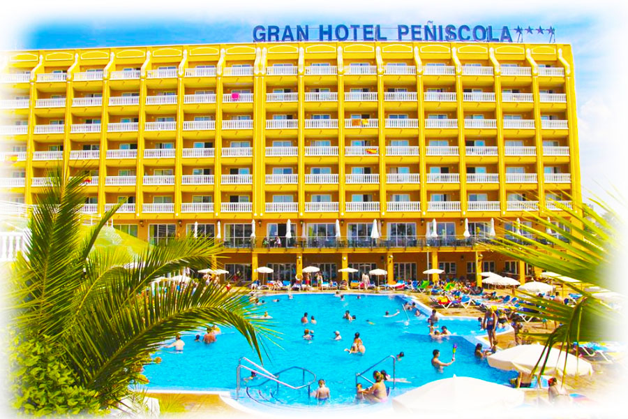 Piscina Gran Hotel Peñíscola