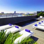 Hotel H10 Port Vell: Hotel en Barcelona Piscina pequeña en la Azotea