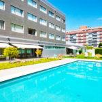 Hotel Abba Huesca: Hotel en Huesca Piscina al Aire Libre