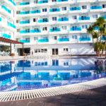 Hotel Acuazul: Hotel en Peñíscola Piscina Exterior al Aire Libre