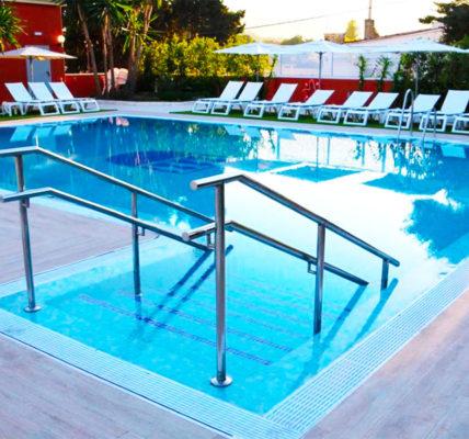 Piscina Hotel Alborán Algeciras