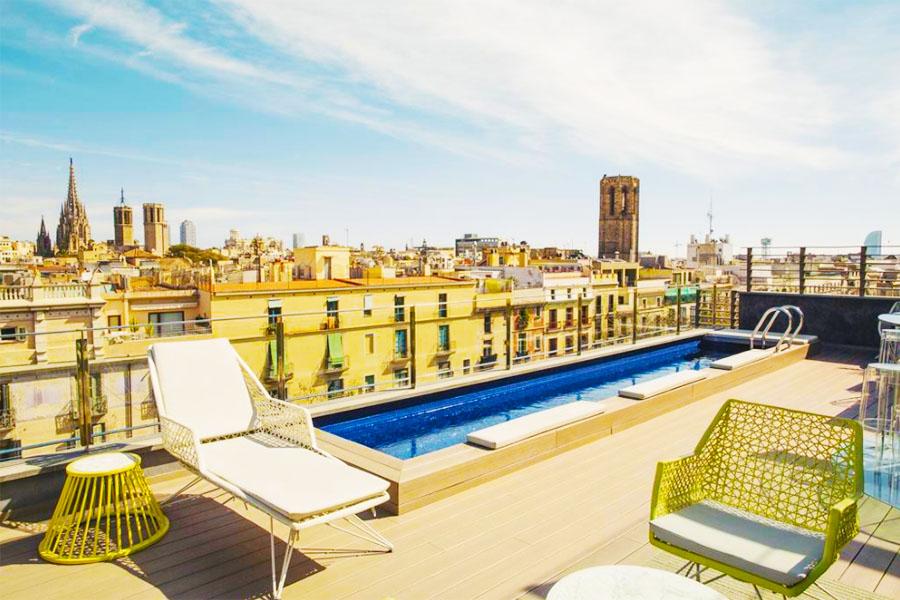 Piscina Hotel Bagués