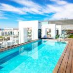Hotel Barceló Malaga: Hotel en Centro de Málaga Piscina en la Azotea