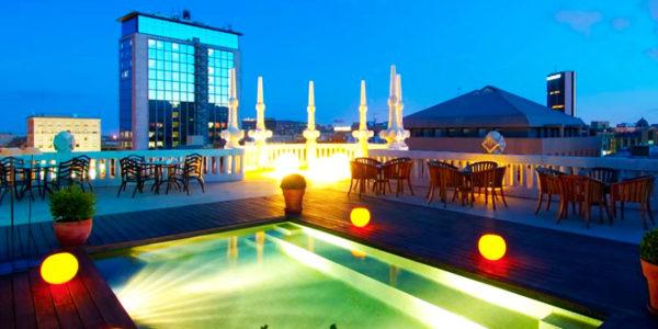 Piscina Hotel Casa Fuster GL Monumento