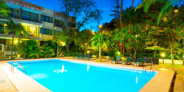 Piscina Hotel Colon Rambla