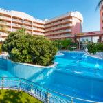 Hotel Dorada Palace: Hotel en Salou Piscina al Aire Libre