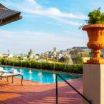 Hotel El Palace Barcelona: Hotel en Barcelona Piscina al Aire Libre
