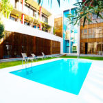 Hotel Escuela Santa Cruz: Hotel en Santa Cruz de Tenerife Piscina al Aire Libre