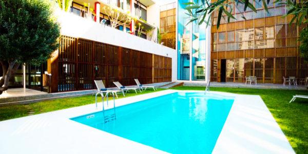 Piscina Hotel Escuela Santa Cruz