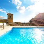 Hotel Eurostars Palacio de Santa Marta: Hotel en Trujillo Piscina en la Azotea