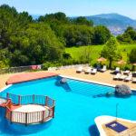 Hotel Gudamendi: Hotel en San Sebastián Piscina al Aire Libre