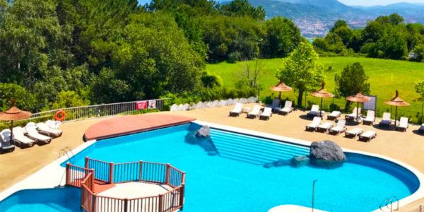 Piscina Hotel Gudamendi San Sebastian