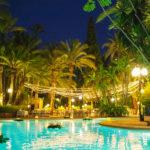 Hotel Huerto del Cura: Hotel en Elche Piscina al Aire Libre