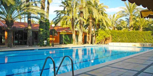 Piscina Hotel Jardin Milenio