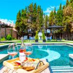 La Casa del Presidente: Hotel en Ávila Piscina al Aire Libre