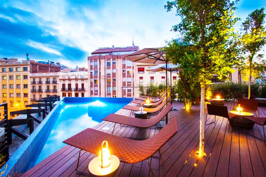 Piscina Hotel OD Barcelona