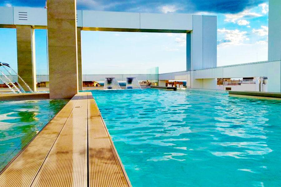 Piscina Hotel Olympus Palace
