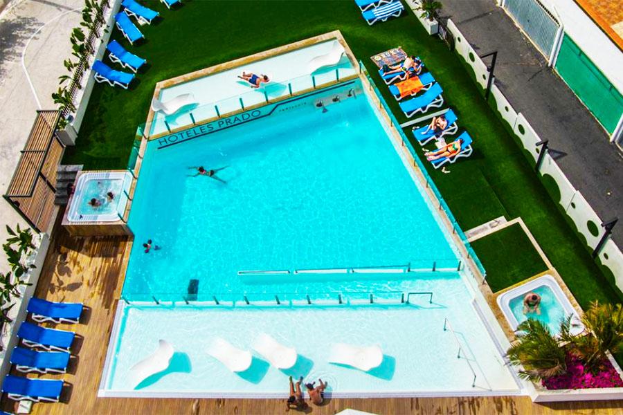 Piscina Hotel Prado II