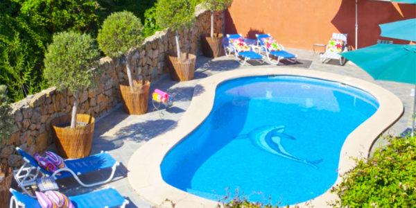 Piscina Hotel Rural Molino del Puente Ronda