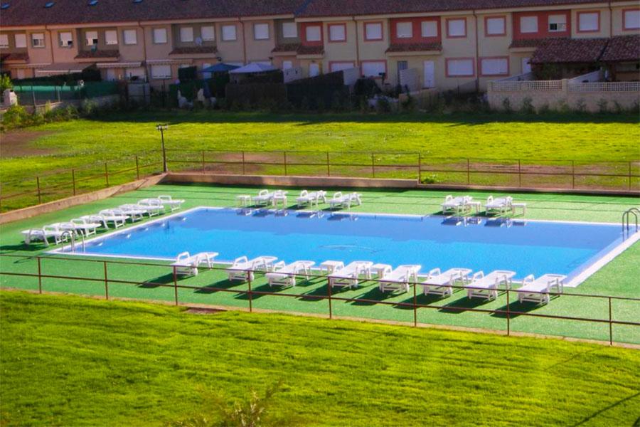 Piscina Hotel Santiago León