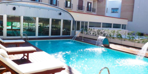 Piscina Hotel Sercotel Guadiana