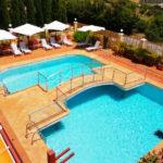 Hotel Sierra Hidalga: Hotel en Ronda Piscina al Aire Libre