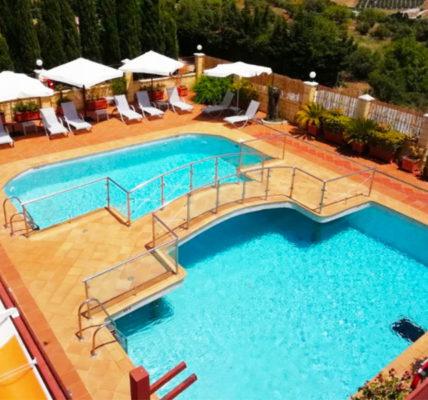 Piscina Hotel Sierra Hidalga