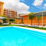 Hotel Soho Boutique Jerez & Spa: Hotel en Jerez de la Frontera Piscina al Aire Libre