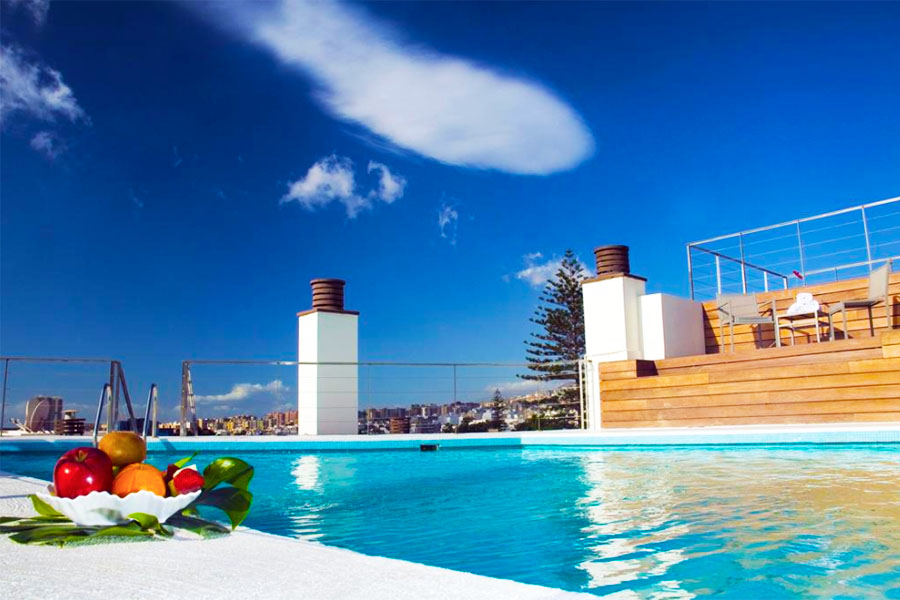 Piscina Hotel Taburiente SC Tenerife