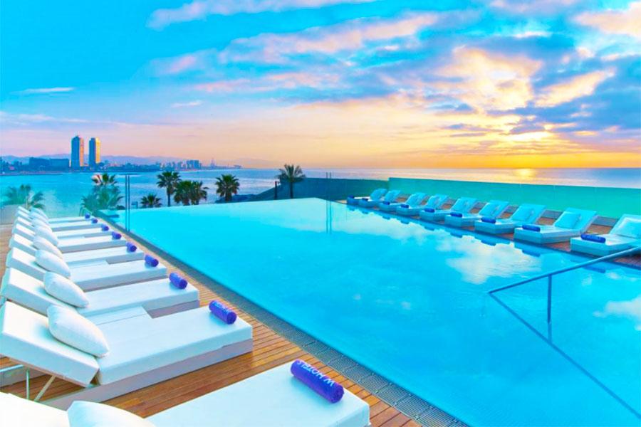 Piscina Hotel W Barcelona