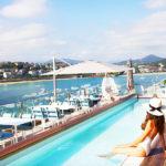 Lasala Plaza Hotel: Hotel en San Sebastián Piscina con Vistas al Mar