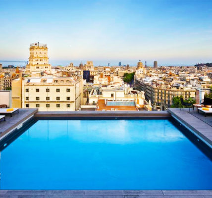 Piscina NH Collection Barcelona Gran Hotel Calderon