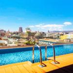 Hotel Negresco Princess: Hotel en Barcelona Piscina al Aire Libre