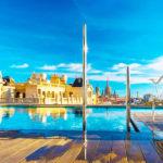 Hotel Ohla Barcelona: Hotel en Barcelona Piscina en la Azotea