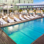 The Level at Melia Barcelona Sky: Hotel en Barcelona Piscina al Aire Libre