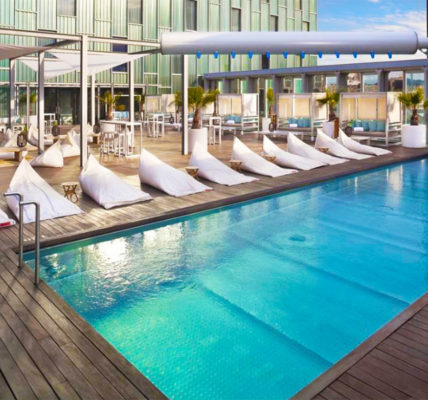 Piscina The Level at Melia Barcelona Sky