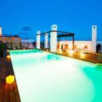 Hotel Vincci Selección Posada del Patio: Hotel en Centro de Málaga Piscina en la Azotea con Vistas