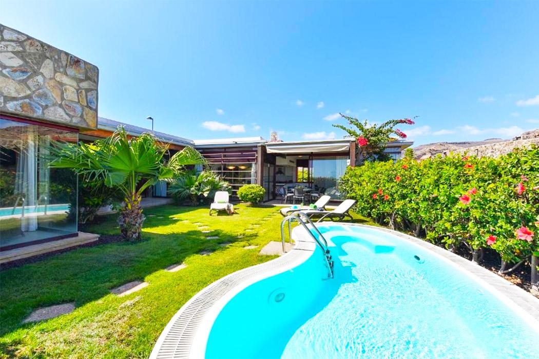 Villas Tauro Golf piscina privada habitacion gran canaria